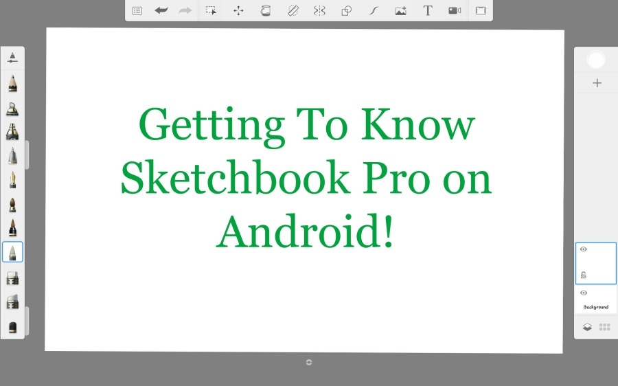 Getting to know Sketchbook Pro Android