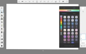 S.P Copic Colors Palette